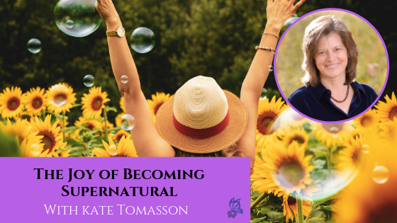 The Joy of Becoming Supernatural